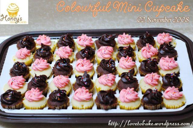 Colourful Mini Cupcake