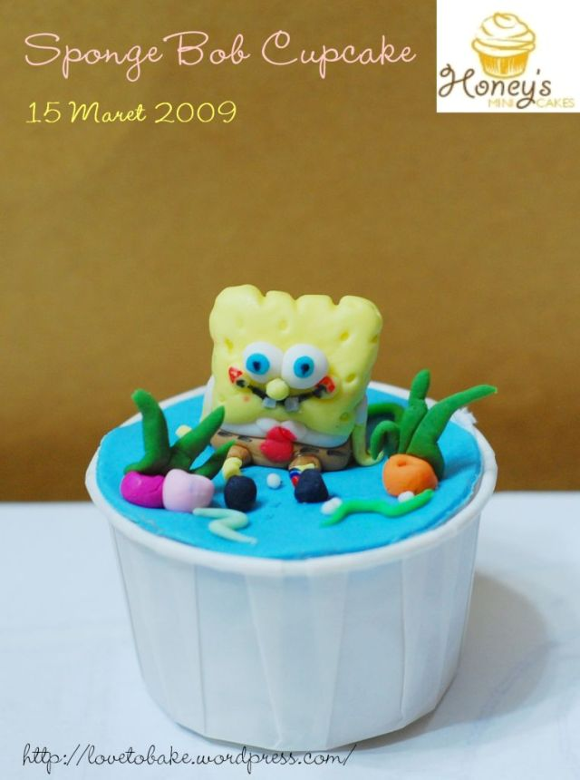 spongebob-cucpcake