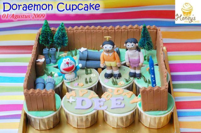Doraemon Cupcake -1
