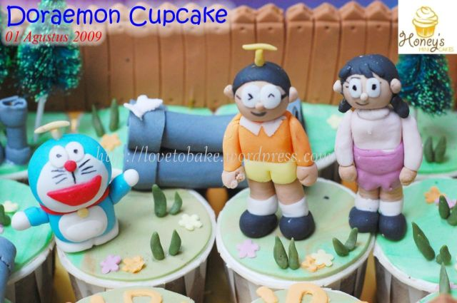 Doraemon Cupcake -2