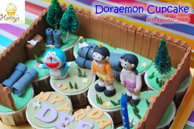 Doraemon Cupcake -3