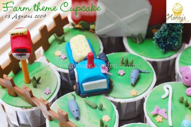 farm theme Cupcake-2