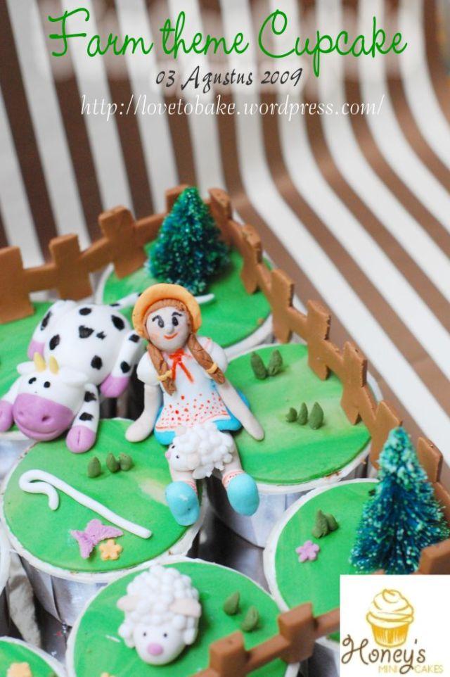 farm theme Cupcake-4