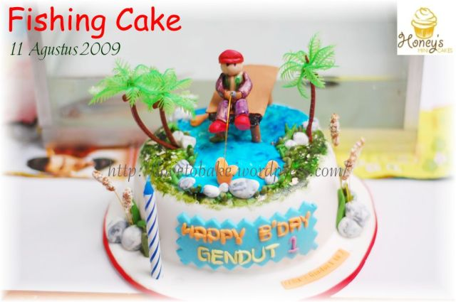 Fishing Cake 1
