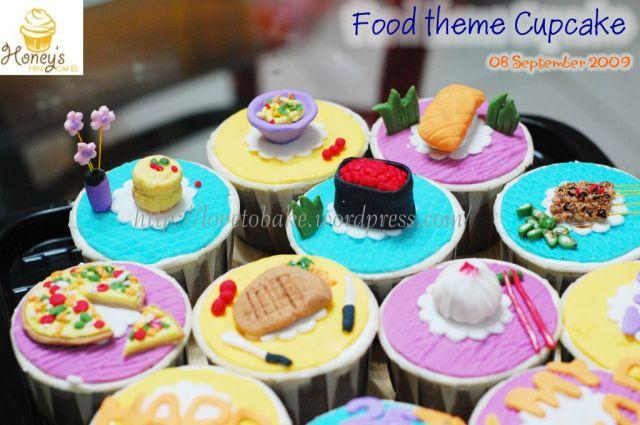 Food theme cupcake 2