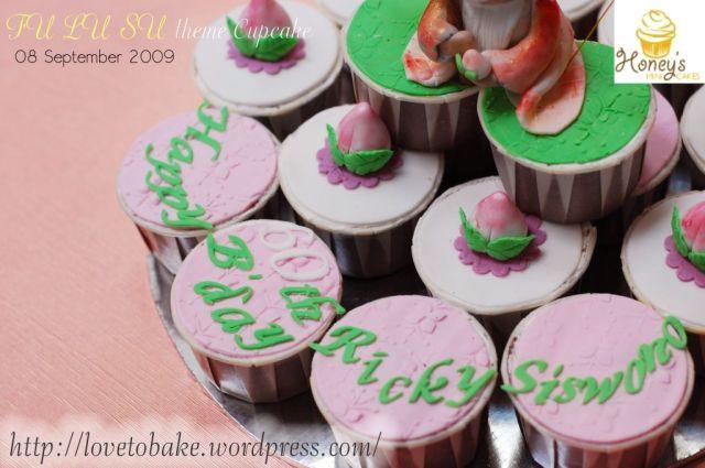 Fu Lu Su theme Cupcake 3