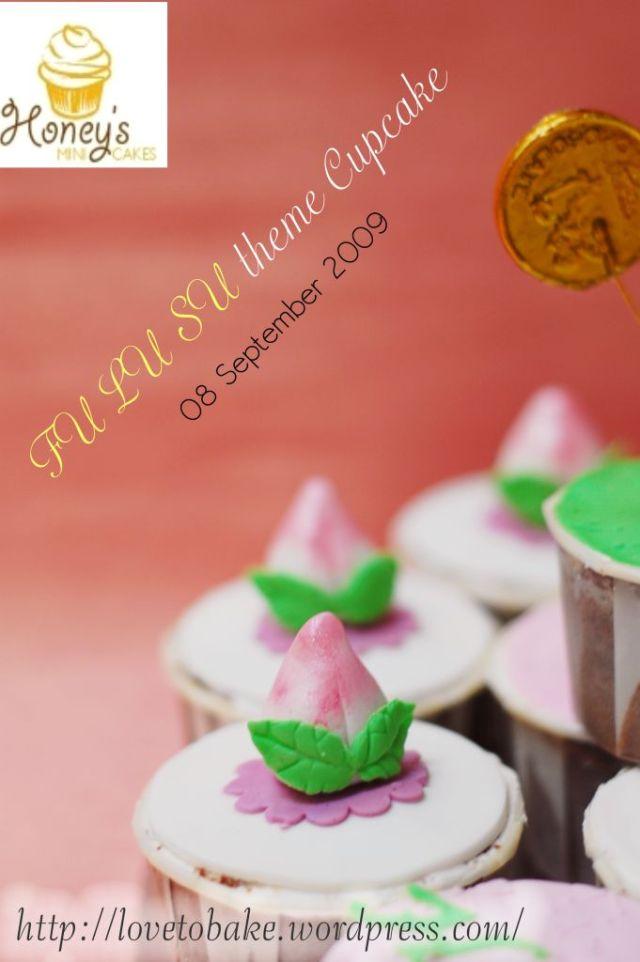 Fu Lu Su theme Cupcake 4