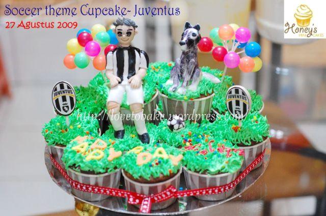 juventus cupcake
