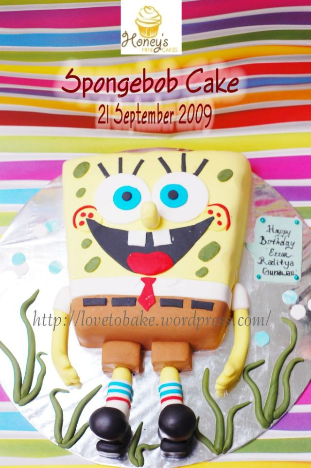 spongebob cake1