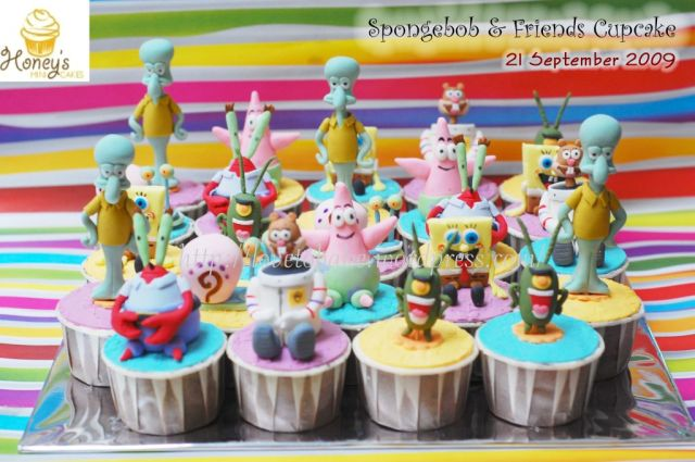 spongebob&friends cupcake 2
