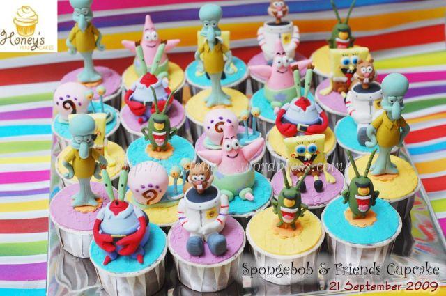 spongebob&friends cupcake 3