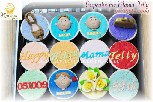 Cupcake for Mama Telly 1