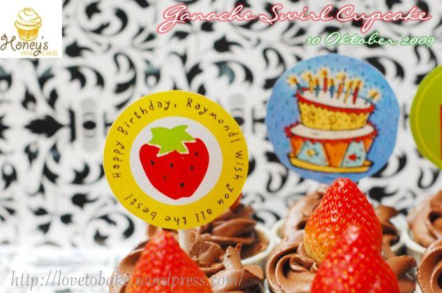 Ganache Swirl Cupcake 2