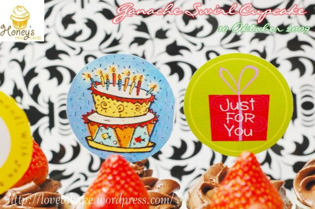 Ganache Swirl Cupcake 3