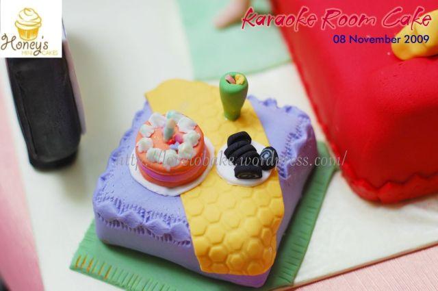 Karaoke Room Cake 3