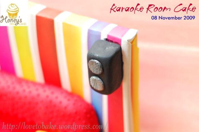 Karaoke Room Cake 4
