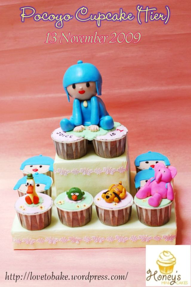Pocoyo Cupcake 1