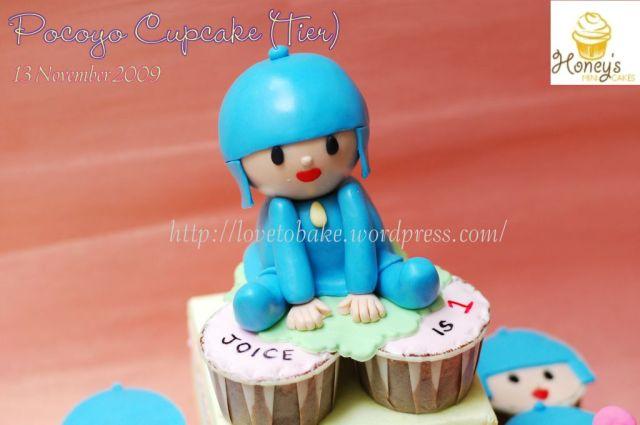Pocoyo Cupcake 2