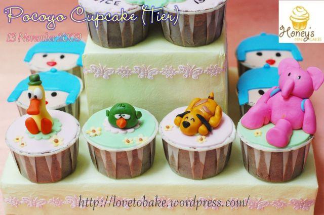 Pocoyo Cupcake 3