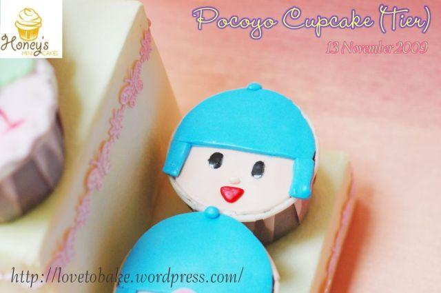 Pocoyo Cupcake 4