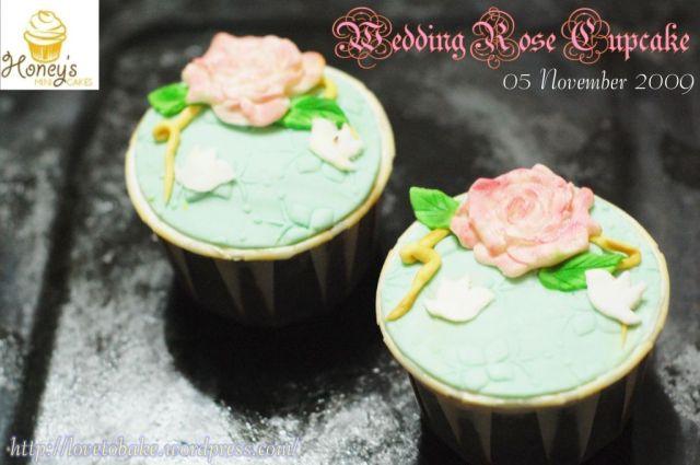 Wedding Rose Cupcake-tester