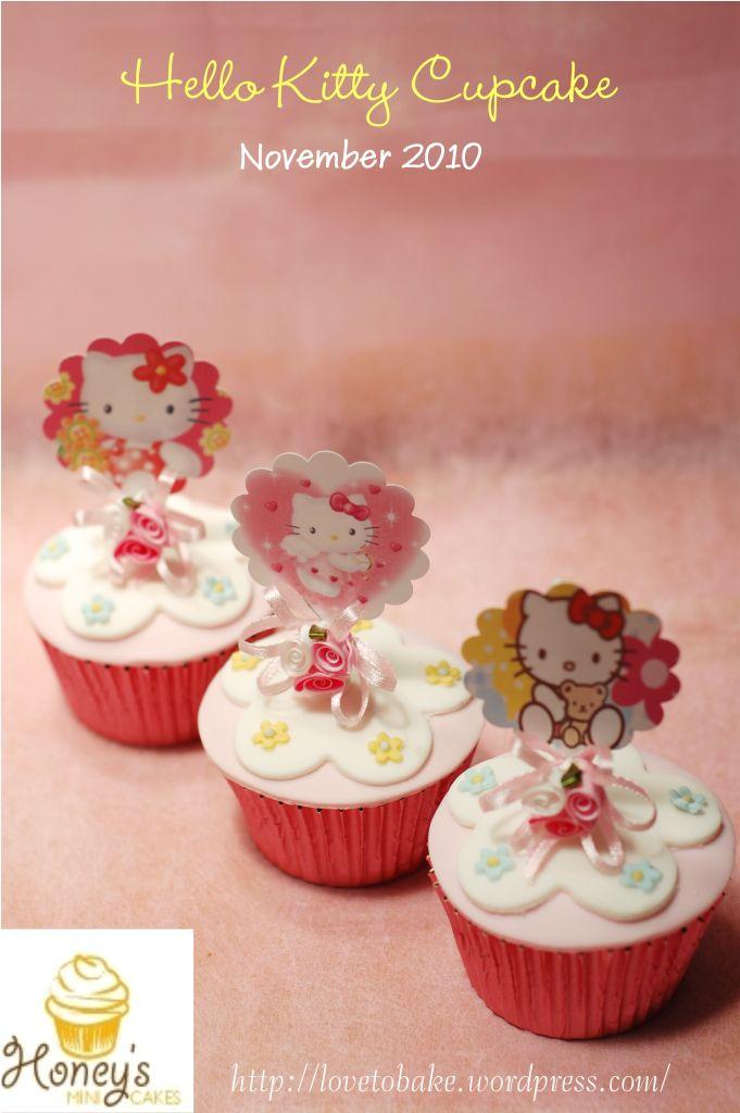 Hello Kitty Cupcake Honey S Mini Cakes