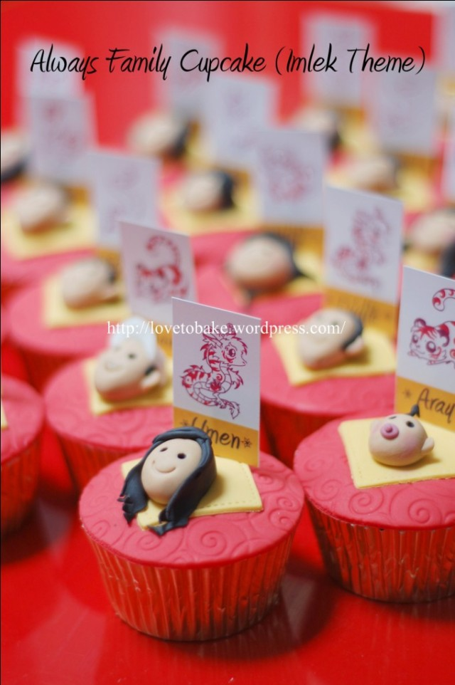 Cake Out Artinya : Always Family Cupcake (Imlek Theme)   Honey s Mini Cakes