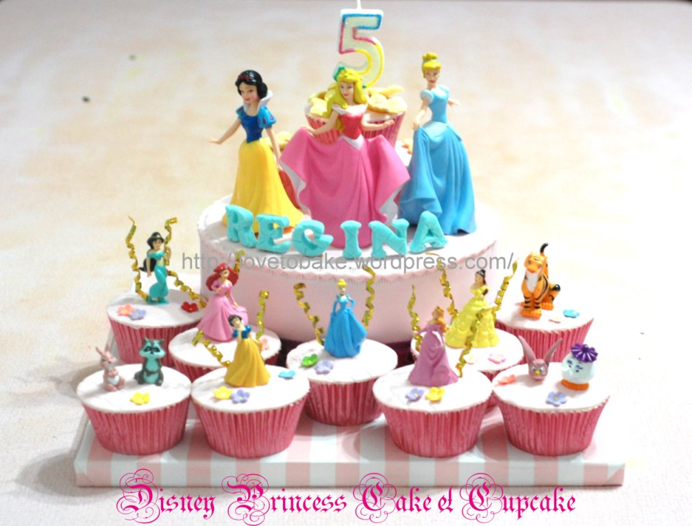 Disney Princess Cake Cupcake Honeys Mini Cakes
