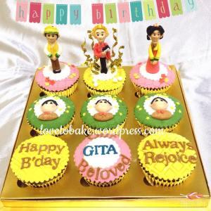 1-Cupcake set 9-Korean Themed