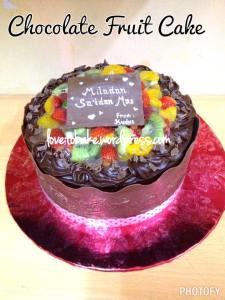 2-Chocolate Fruit Cake