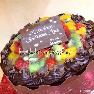 3-Chocolate Fruit Cake