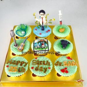 Doctor Sam Cupcake